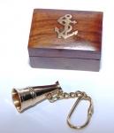 PORTACHIAVE CON BOX  megafono